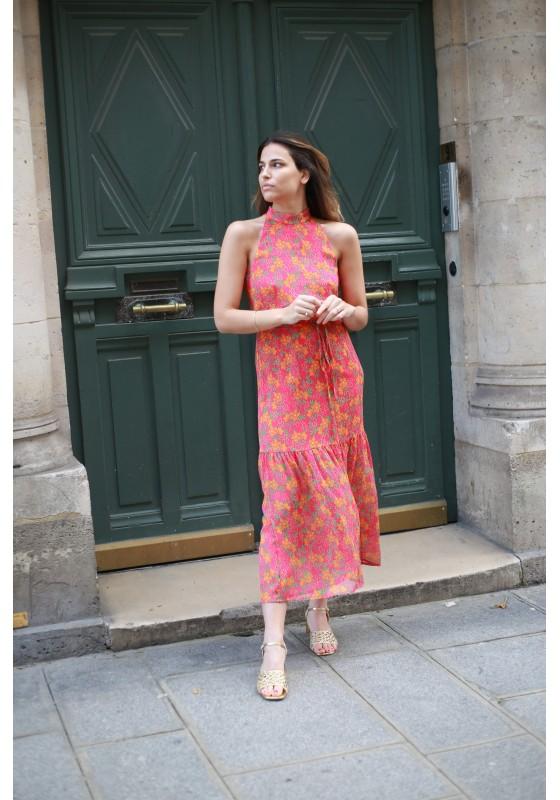 Dress WONDER tropicana pink