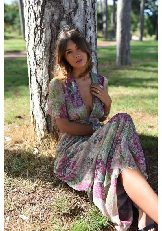 Dress GLORIA lurex Lison