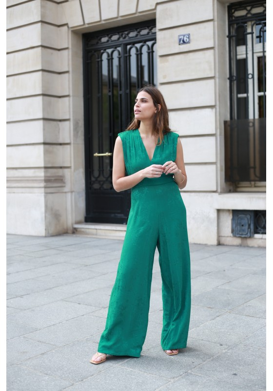 Jumpsuit KOURTNEY verte