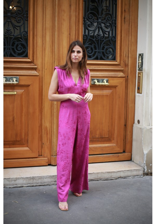 Jumpsuit KOURTNEY fushia