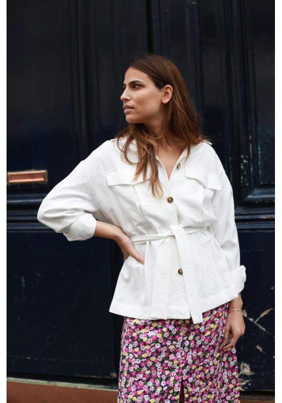 Jacket CHARLIE white