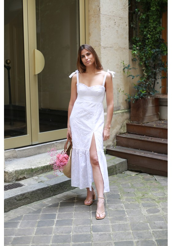 Robe LOU broderie anglaise