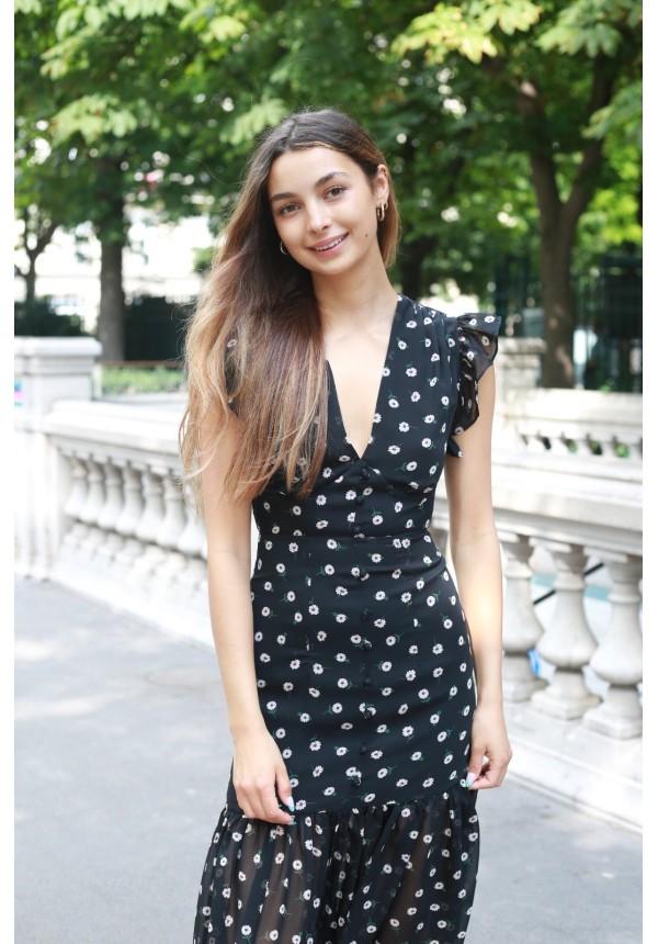 Dress DAISY noire