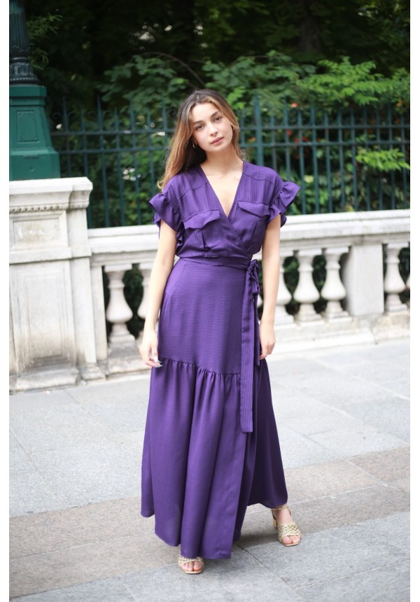 Dress GABY violette